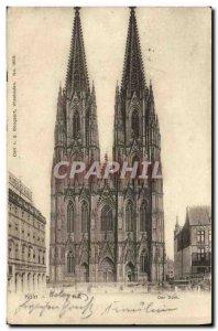 Postcard Old Der Koln Dom