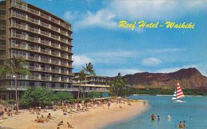 Reef Hotel and Diamond Head Waikiki Hawaii