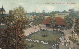 CHICAGO , Illinois , 1909 ;  Riverview Park , Grand view