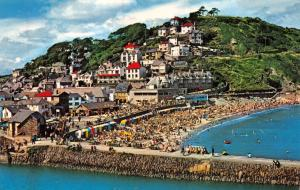 Vintage Postcard CORNWALL The Beach, Looe by NPO #B7058