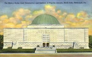 Buhl Planetarium, Popular Science Pittsburgh PA Unused
