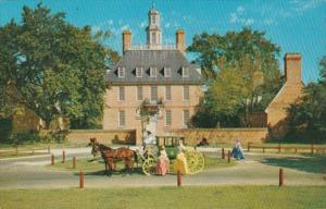 Virginia Williamsburg Governor's Palace 1957