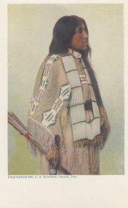 Indian Woman , Omaha , Nebraska , 1905 ; F.A. Rinehart