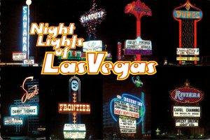 Nevada Las Vegas Night Lights Casino Multi Views