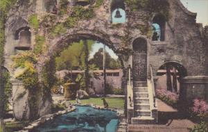 Entrance Arch Mission Inn Riverside California Handcolored Albertype