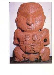 Pukaki, Ancient Gateway Carving, Arawa Chief, Auckland War Memorial Museum, N...