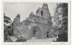 Essex; St Botolph's Priory, West Front, Colchester PPC , Unposted, c 1905 - 1910