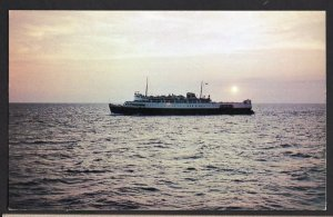 PEI M. V. ABEGWEIT Ice-breaking Car and Train Ferry at Sunset World's Largest