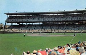 Chicago Illinois Wrigley Field Baseball Field Vintage Postcard J47217