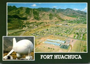 Arizona Fort Huachuca With Surveillance Blimp Used Monitoring Mexican-America...