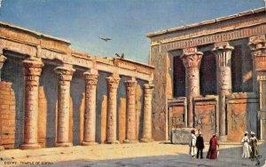 EGYPT~TEMPLE OF EDFOU~TUCK PICTURESQUE EGYPT POSTCARD