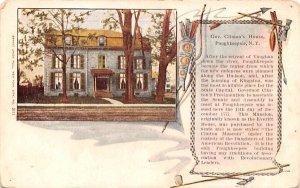 Gov Clinton's House Poughkeepsie, New York Postcard