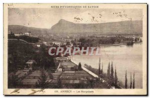 Postcard Old Annecy Marquisats