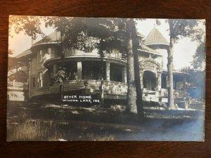 RPPC 1918 Beyer Home, Winona Lake, IN