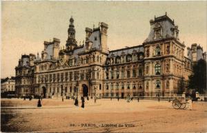 CPA PARIS 4e Hotel de Ville (446083)