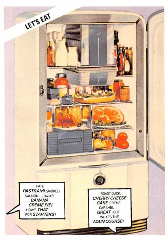 Advertising - Refridgerator