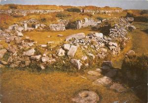 Chysauster Ancient Village Cornwall An Iron-Age Dwelling