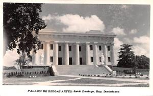 Dominican Republic Old Vintage Antique Post Card Palacio de Bellas Artes Sant...