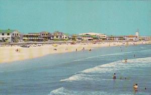 Florida Jacksonville Beach Showing Sun Bathers