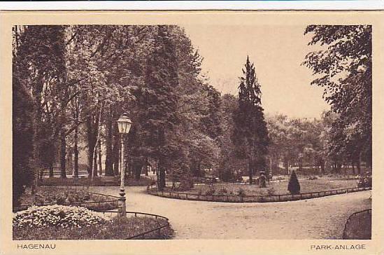 Park-Anlage, Hagenau, Alsace, France,10-20s