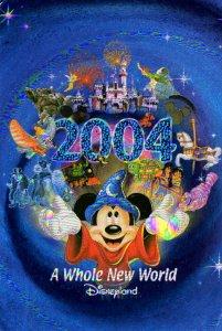 Disneyland Resort - 2004 - A Whole New World - Hologram look - Continental Size