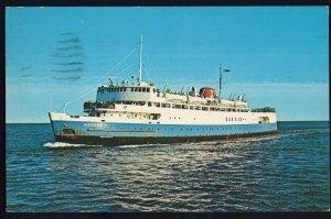 M.V.S. ABEGWEIT Ice Breaker Ferry Passenger NB to PEI pm1965 Chrome 1950s-1970s