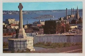 Vintage Postcard: Sailor's Memorial on the Citadel. Halifax, Nova Scotia