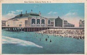 ASBURY PARK, New Jersey, 1930-1940s; New Casino