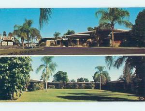 Unused Pre-1980 MOTEL SCENE Venice Florida FL HJ9039-12