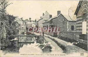 Postcard Old Montivilliers Seine Inf The Banks of the Lezarde