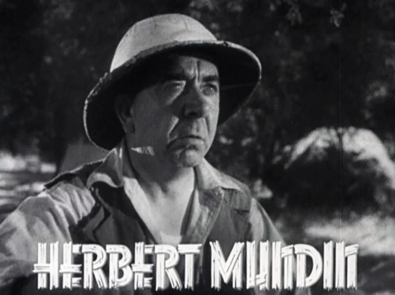 Herbert Mundin 1930s Robin Hood TV Show Tarzan Escapes London