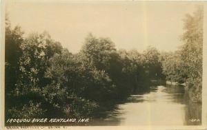 C-1910 Kentland Indiana Iroquois River RPPC Photo #217 Postcard 5445
