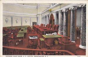 Supreme Court Room U S Capitol Washington DC