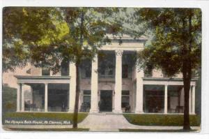 The Olympia Bath House, Mt Clemens, Michigan, PU-1913