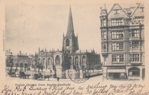 SHEFFIELD, Yorkshire, England, 1902 ; Parish Church from South