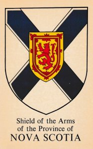 NOVA SCOTIA, Canada , 1950-60s ; Coat of Arms