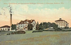 MADISON WISCONSIN~UNIVERSITY~DAIRY & AGRICULTURAL BUILDINGS~1900s POSTCARD