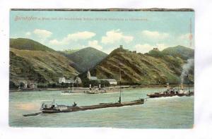 Bornhofen a. Rhein, Germany, 00-10s River barges