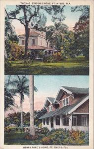 Henry Ford's Home And Thomas Edison's Home Fort Myers Florida