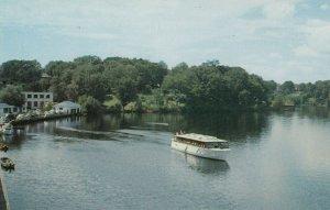 HUNTSVILLE , Muskoka, Ontario , 50-60s ; Iroquois approaching the Swing Bridge