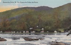 KANAWHA FALLS, West Virginia , PU-1913; Kanawha Falls , The Pitch