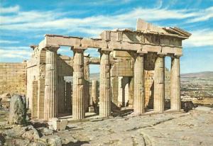Greece, Athens, The Propylaea, unused Postcard
