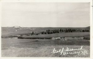 RP: HARVEY , North Dakota ,1910-30s ; Golf Ground