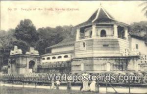 Ceylon, Ceylan, Sri Lanka Kandy Temple of the Tooth