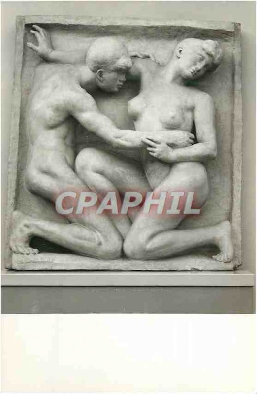Modern Postcard NY Carlsberg Glyptotek Kobenhavn A Maillol Mand OG Kvinde