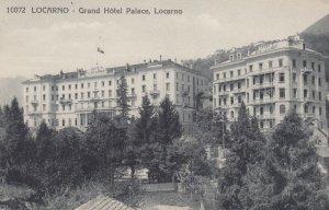 LOCARNO , Switzerland , 1900-10s ; Grand Hotel Palace