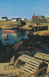 Lobster Traps at Peggys Cove NS, Nova Scotia, Canada