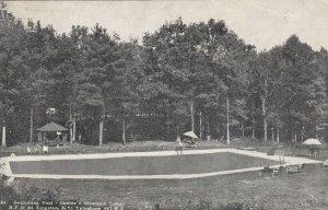 KINGSTON , New York , 1954 ; Oehler's Mt Lodge , Swimming Pool
