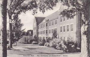 Connecticut Storrs The Holcomb Hall The University Of Connecticut Albertype