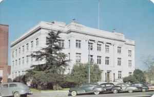 FAYETTEVILLE, North Carolina, 1950-1960's; Cumberland County Court House, Cla...